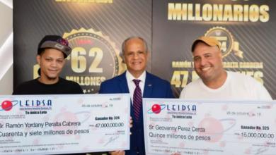 Photo of Leidsa entrega 62 millones de pesos a dos nuevos millonarios.