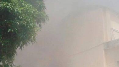 Photo of Evacuan pacientes y médicos de centro médico de Cotuí por incendio.