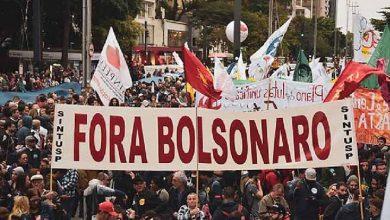 Photo of Protestas en Brasil contra autoritarismo de Gobierno de Bolsonaro.