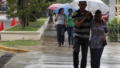 Photo of Continúan las lluvias por vaguada este martes.