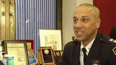 Photo of Dominicano es  jefe de patrulleros de la policía de NY