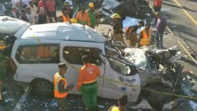 Photo of Cinco muertos en otro accidente de tránsito en Bonao