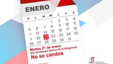 Photo of Feriado del Día de la Altagracia no se cambia.