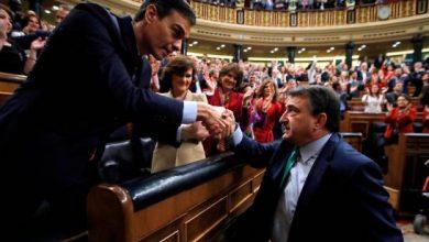 Photo of Sánchez, confirmado por el Congreso como presidente del Gobierno español.