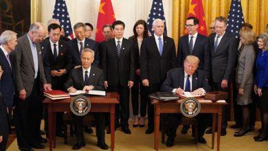 Photo of EEUU y China firman acuerdo preliminar.