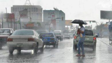 Photo of Meteorología prevé lluvias para este miércoles por sistema frontal.