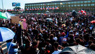 "Photo of ""Trabucazo 2020"" reúne multitud frente JCE; demandan explicación."