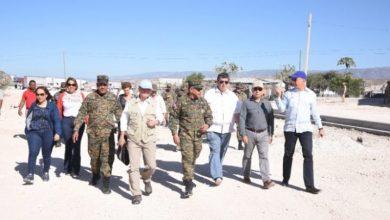 Photo of Delegación de embajadores realiza recorrido por la frontera domínico-haitiana.