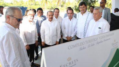Photo of Danilo Medina asiste a inicio de construcción dos hoteles en Miches.