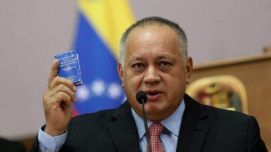 Photo of Diosdado Cabello dice que tío de Guaidó fue detenido por trasladar explosivos en avión.