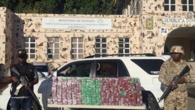 Photo of CESFRONT en Dajabón detiene Jeepeta con 40 mil cigarrillos.