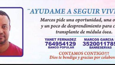 Photo of Hombre solicita ayuda económica para costear trasplante de médula ósea