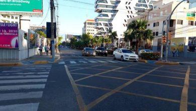 Photo of Tránsito disminuye este martes por calles y avenidas del Gran Santo Domingo.