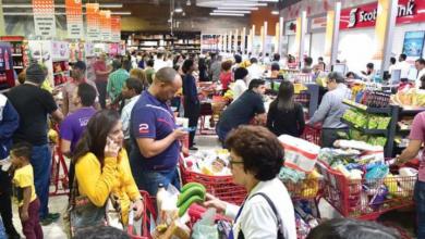 Photo of Ciudadanos se abastecen en los supermercados ante Covid-19.