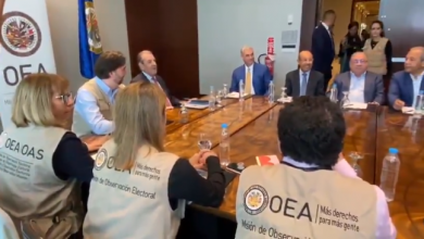 Photo of Gonzalo y miembros Comité Político PLD se reúnen con misión observadora OEA.