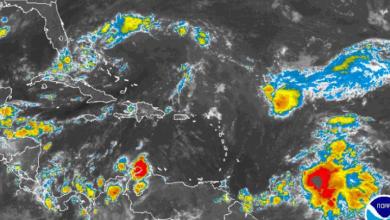 Photo of Vaguada provocará aguaceros y tormentas eléctricas; oleaje peligroso.