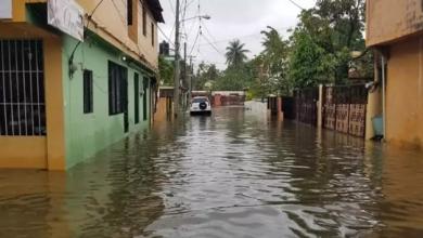 Photo of Varios sectores de Puerto Plata inundados por lluvias.