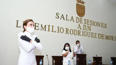 Photo of Las palabras de Carolina Mejía tras asumir como alcaldesa del Distrito Nacional.