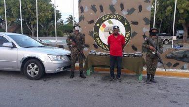 Photo of Apresan hombre intentando ingresar al país 45 libras de marihuana por la frontera.