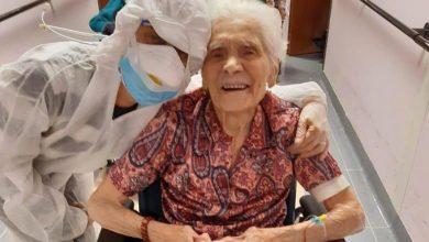 """Photo of Italiana de casi 104 años se recupera de COVID-19 con """"fe"""""""