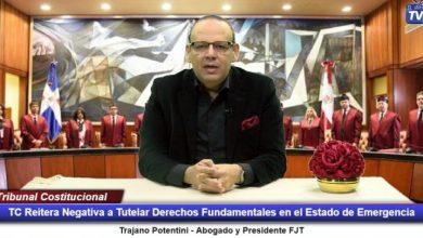 Photo of FJT condena reiterada negativa del Tribunal Constitucional para recibir amparo en contra de las AFP para devolución del 30%.