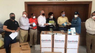 Photo of Instituciones empresariales de Santiago entregan materiales y un vehículo para enfrentar el Covid 19.