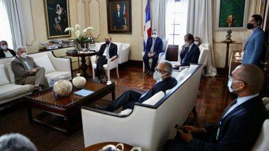 Photo of El Presidente Danilo Medina se reúne con líderes sindicales.