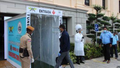Photo of Palacio Nacional instala túnel desinfección por Covid-19.