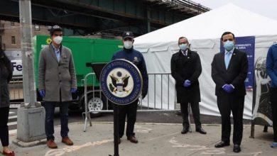 Photo of Oficiales electos y consulado RD ponen en marcha centro pruebas COVID-19 en Alto Manhattan.