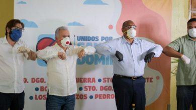 Photo of Antonio Taveras Guzmán y alcalde de Santo Domingo Oeste coordinan acciones de asistencia social y prevención de salud.