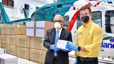 Photo of Campaña de Gonzalo afirma fueron donadas 24,800 pruebas rápidas.