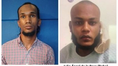 Photo of Detienen a dos hombres que asaltaron agentes de la Digesett en La Romana.