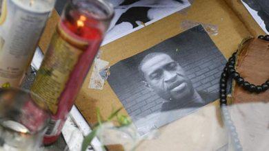 Photo of George Floyd alertó 20 veces a policías que le mataron que no podía respirar.