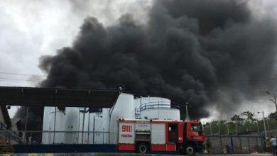 Photo of Incendio consume en 95% empresa Envases Mundial.