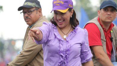 """Photo of Margarita Cedeño: """"Leonel fue muy machista al decir que no estoy a su nivel""""."""
