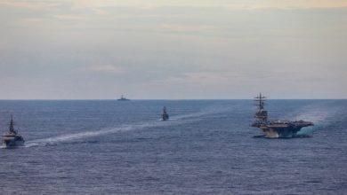 """Photo of China insta a EEUU a detener sus """"intentos de perturbar y sabotear la paz y la estabilidad"""" en el mar de la China Meridional."""
