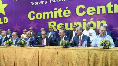 Photo of Los cinco miembros del comité político del PLD que perdieron las elecciones del domingo.