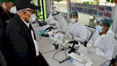 Photo of Reportan 595 nuevos casos de COVID-19 tras descenso en pruebas PCR.