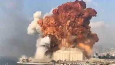 Photo of Se registra fuerte explosión en un almacén de la zona del puerto de Beirut.