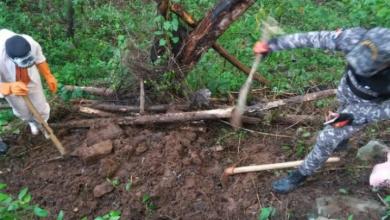 Photo of Hallan enterrado cadáver de un joven en Cotuí que había sido reportado como desaparecido.