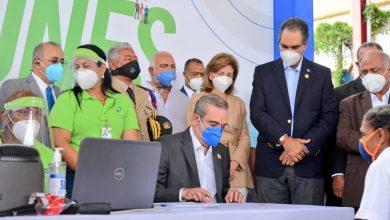 Photo of El presidente Luis Abinader inicia jornada de afiliación al SENASA.
