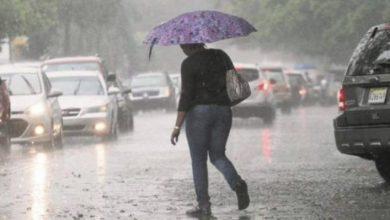 Photo of Onamet prevé continuarán las lluvias por vaguada.