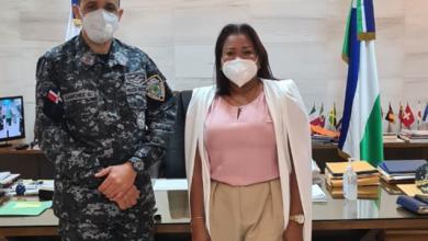 Photo of Gobernadora de la provincia Santo Domingo trata tema de inseguridad ciudadana.