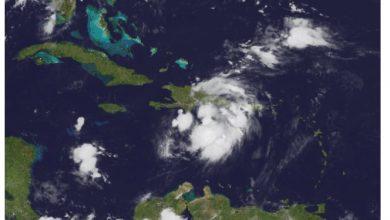 Photo of Grace generando nublados y lluvias en el territorio Dominicano